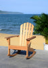 Brizio Adirondack Rocking Chair - Teak