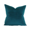 Peacock Velvet Pillow