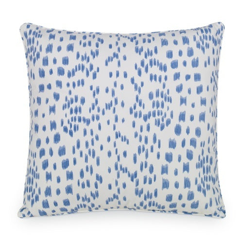 Les Touches Cadet Blue Brunschwig & Fil Pillow