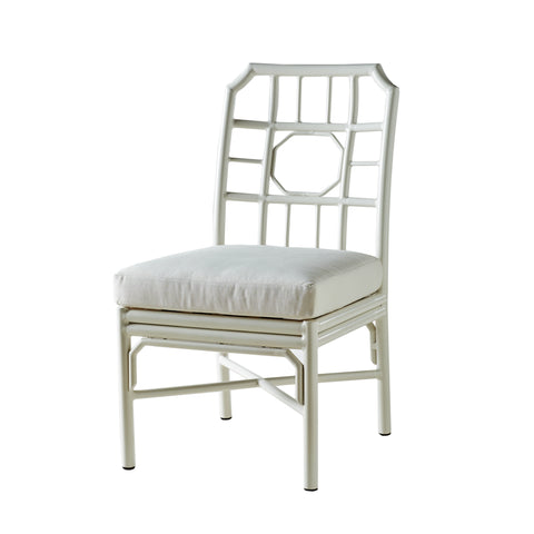 Regeant 4 Season Outdoor Side Chair with Pillow