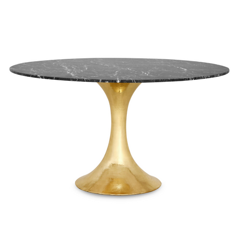 Bungalow 5 Stockholm Brass Dining Table