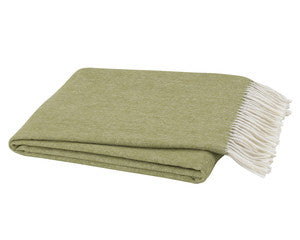 Matcha Herringbone Throw