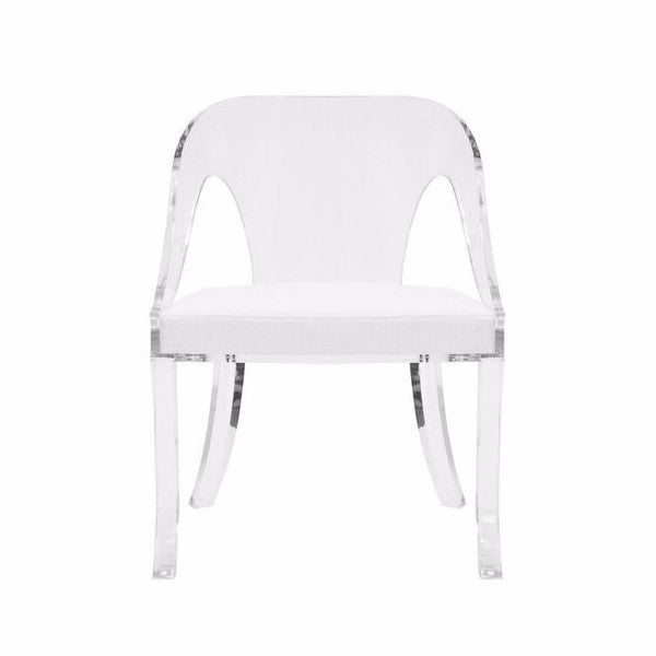 Worlds Away Jolie Acrylic Chair