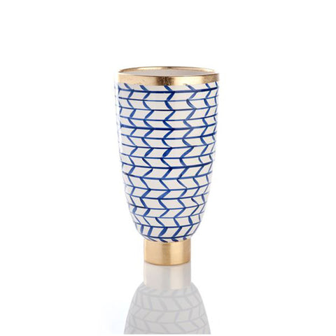 Decorative Geometric Ceramic Vase