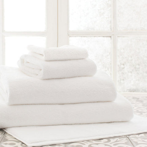 Classic White Bath Towels