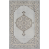 Zahra Grey and Cream Rug