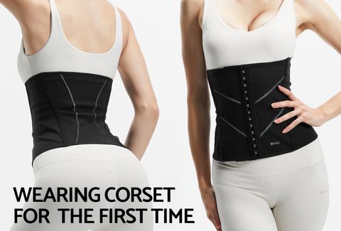 wearing corset for the first time