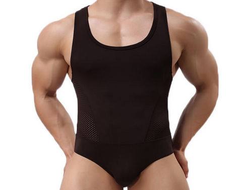 One of the many different types of bodysuits for men