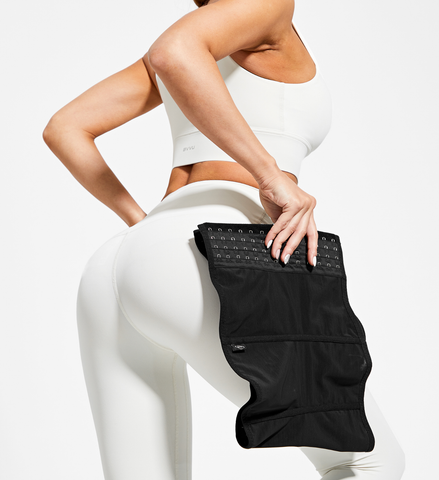 Waist training corsets can be many different designs and sizes