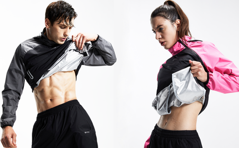 sauna suit benefits include short and long-term health gains