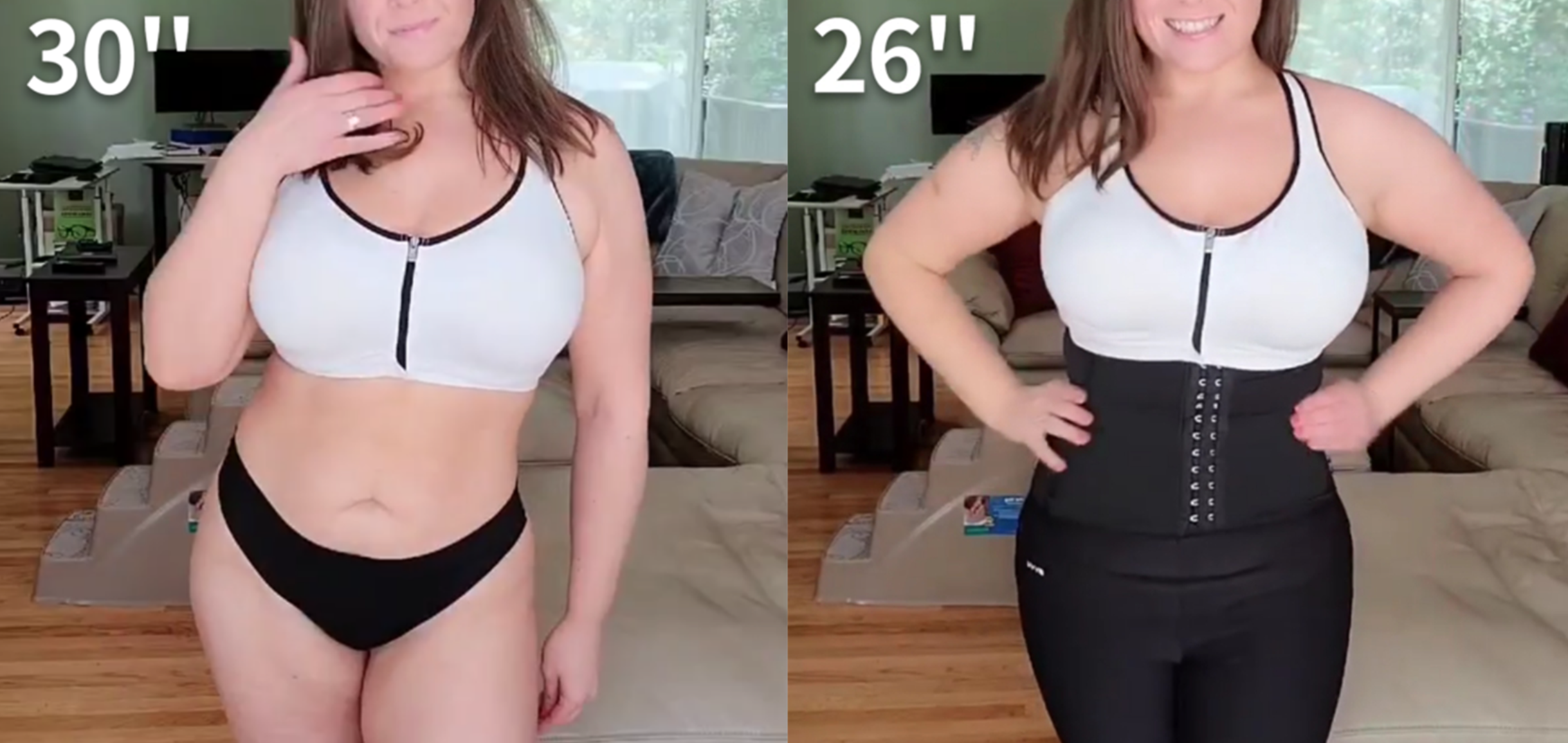 Waist Trainer Results Before And After