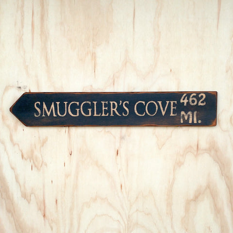 Smugglers Cove Directional Arrow