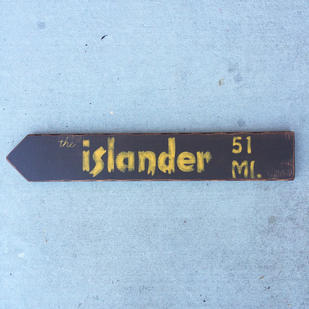 The Islander Directional Arrow