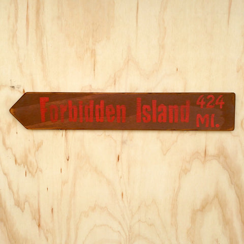 Forbidden Island Directional Arrow