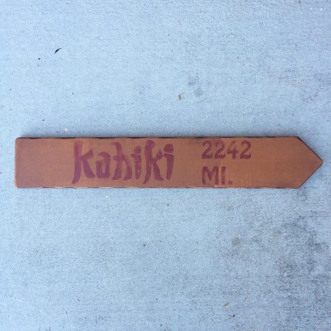 Kahiki Directional Arrow