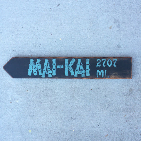 Mai Kai Directional Arrow