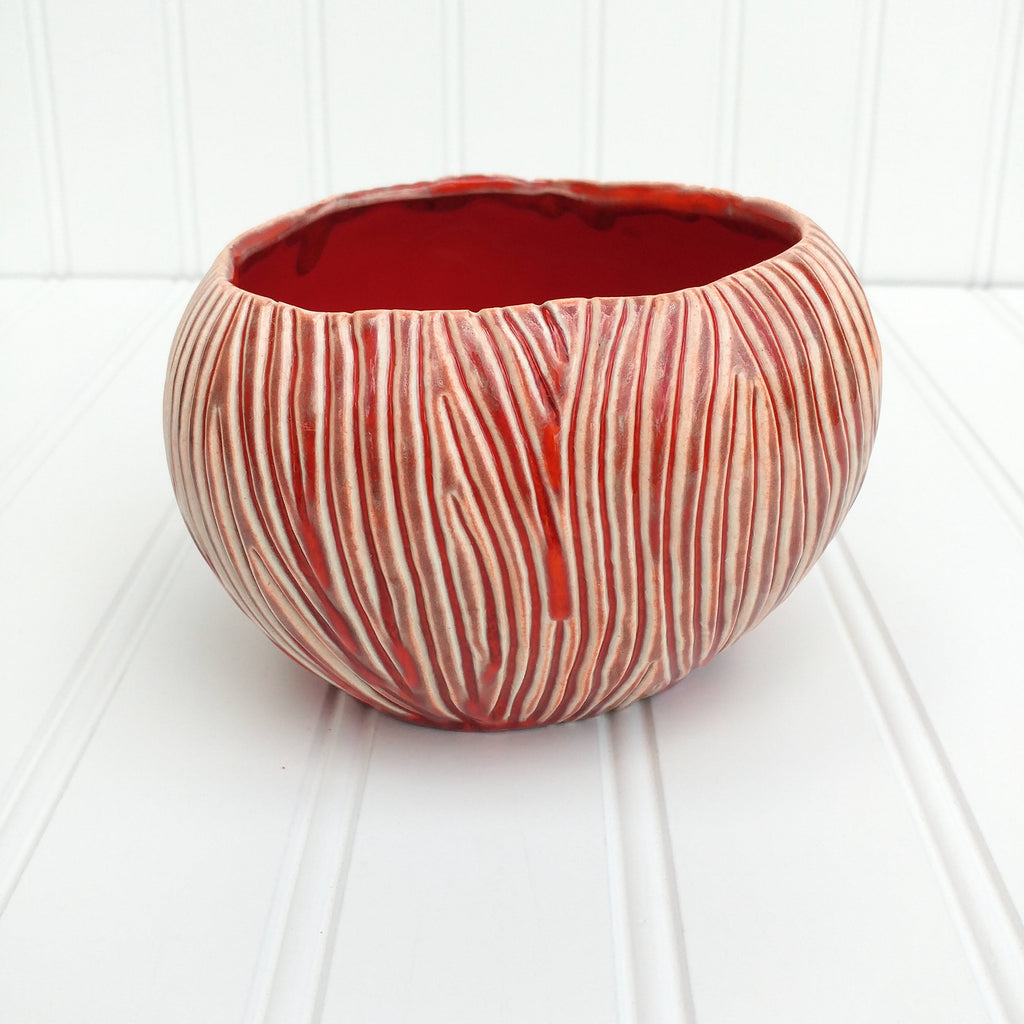 Coconut Mug - Flowing Red