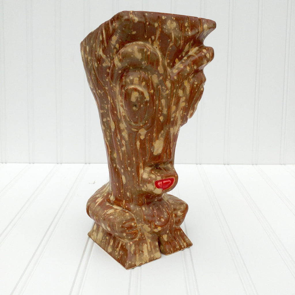 Big Kahuna Tiki Mug - Spotted Wood