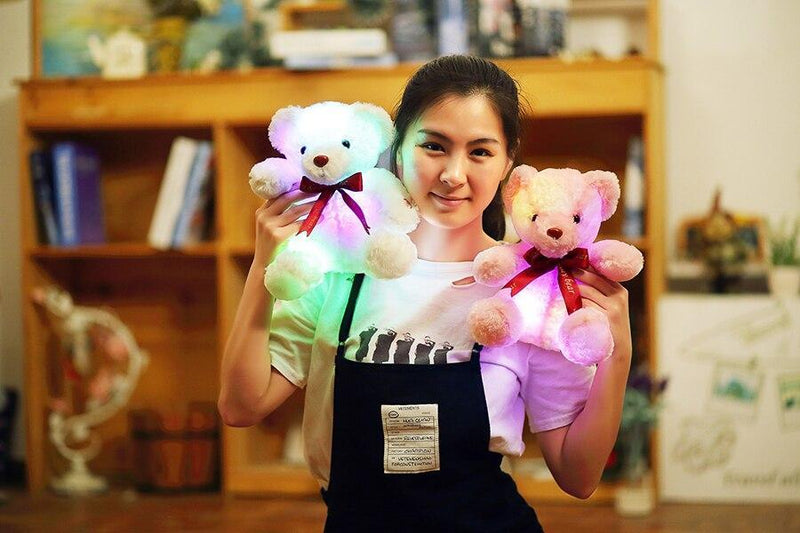 funny Light up teddy bear Gift For Sisters