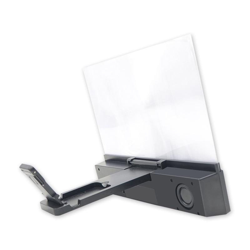 12 Inch screen magnifier with Bluetooth speaker and lazy mount bracket