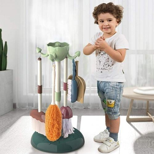 Little Dustman 5 Piece Cleaning Play Set