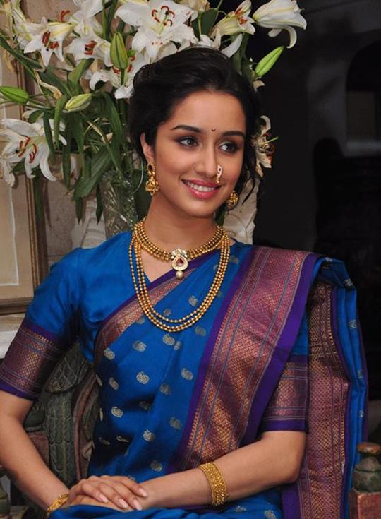 Shraddha in Traditional Saree