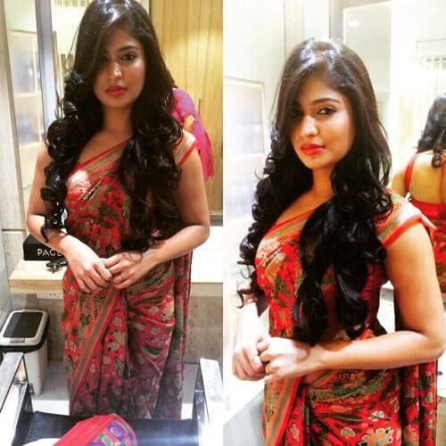 HairStyles with Traditional Sarees