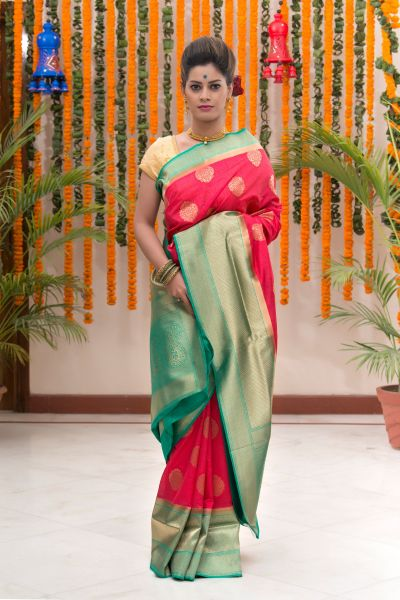 beautiful Karwachauth special saree