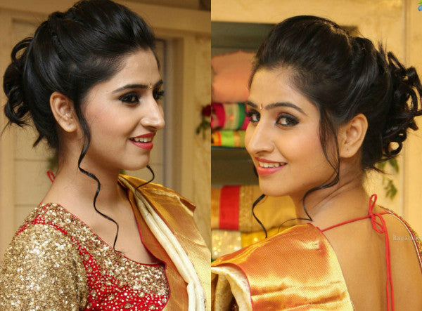 Best Hairstyles with Saree