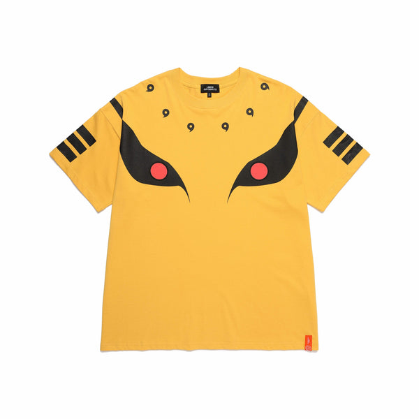 KURAMA T-SHIRTS / YELLOW