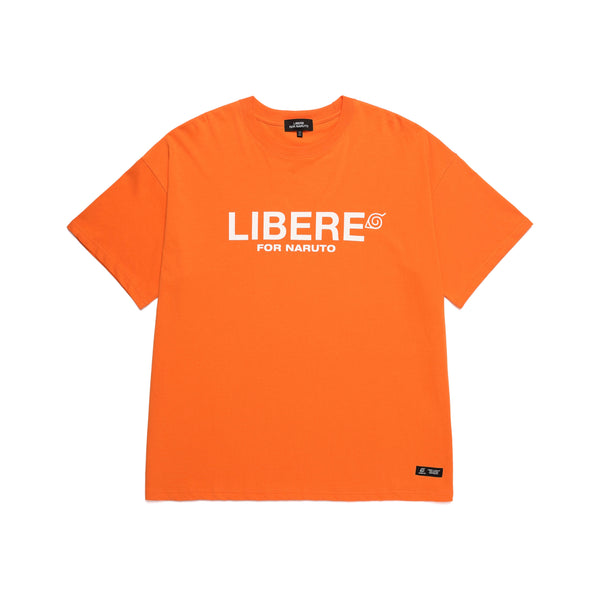 CREW GRAPHIC T-SHIRTS / ORANGE