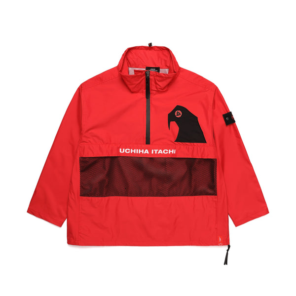 TEAM-AK PULLOVER JAKET / RED
