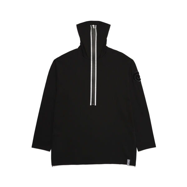 NINJA NECK SHIRT / BLACK