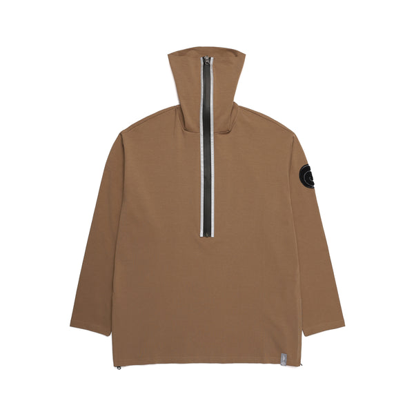 NINJA NECK SHIRT / KHAKI