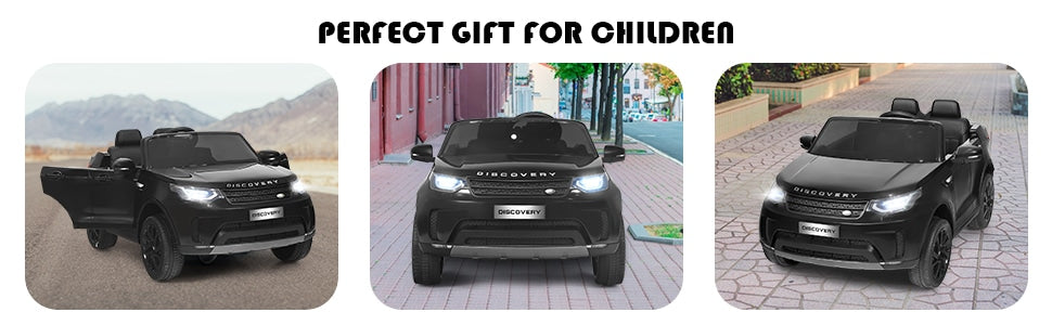 12V Licensed Land Rover 2-Seater Kids Ride On Car Electric Vehicle Toy