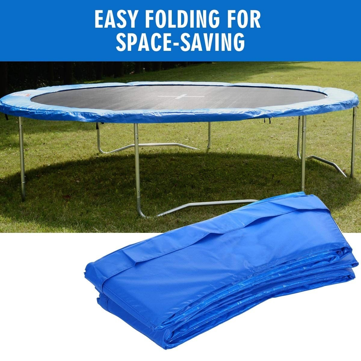 14 Ft Round Trampoline Pad Safety Spring Pad Replacement Cover