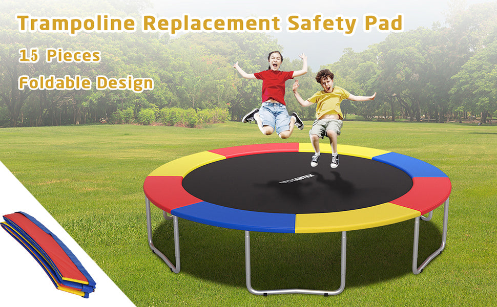 15 Ft Round Trampoline Spring Cover Replacement Safety Pad
