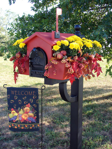 About Us Fall Planter