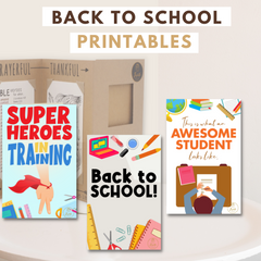 Joyfulle.com Back To School Printables Coloring Pages for Students