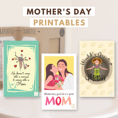 Joyfulle.com Printables Mother's Day Greeting Cards