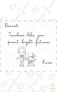 Teacher Appreciation Greeting Card 06