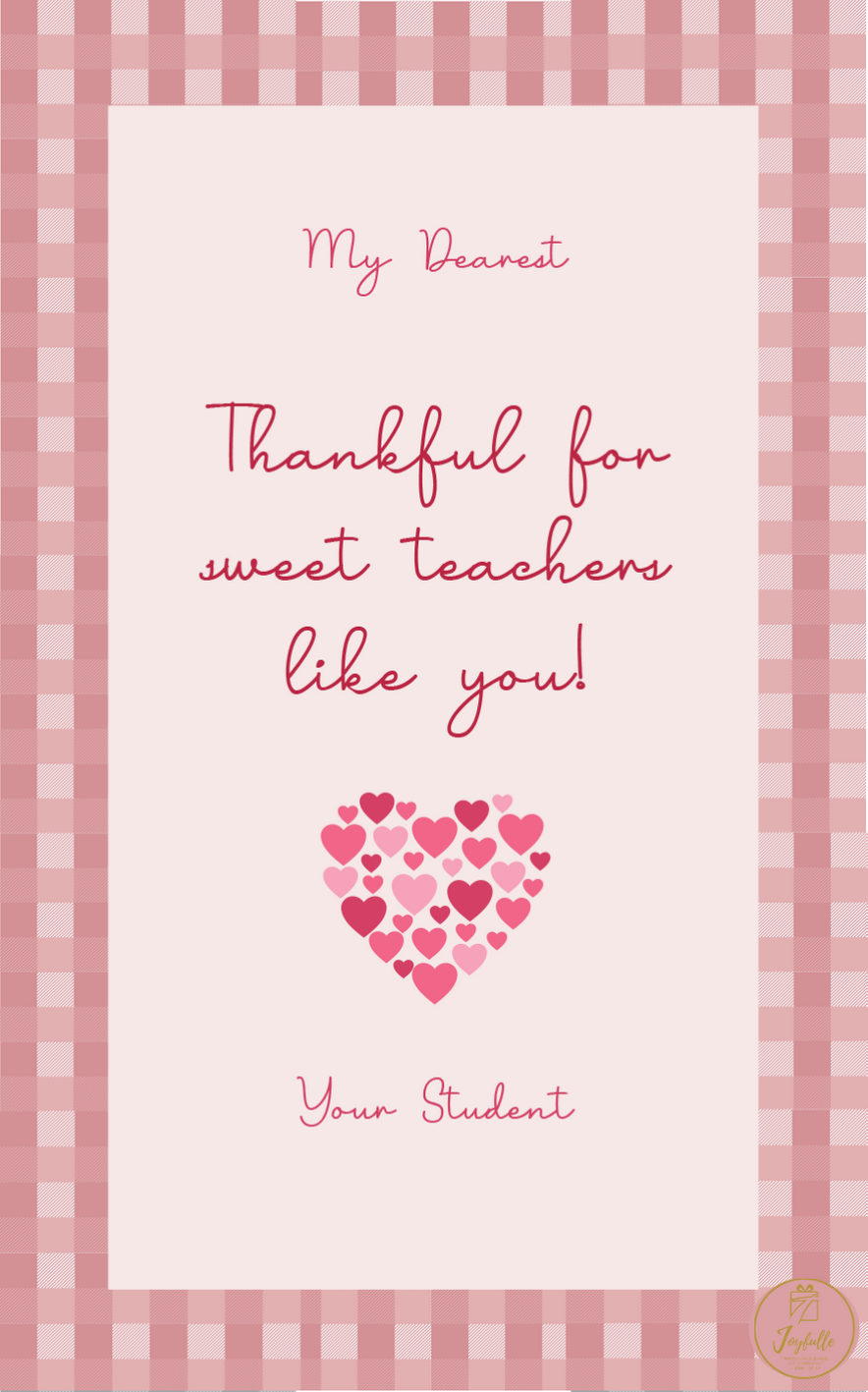 Teacher Appreciation Greeting Card 10