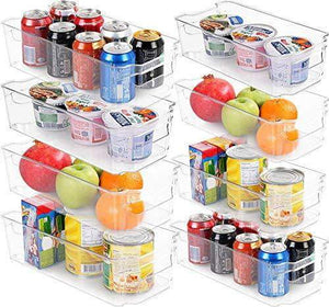 SET OF 8 PANTRY ORGANIZERS
