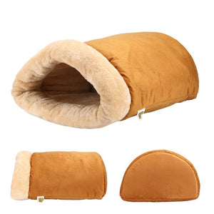 A Four-Way Snuggly Cat Bed and Hideaway