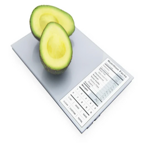 Nutrition Facts Food Scale