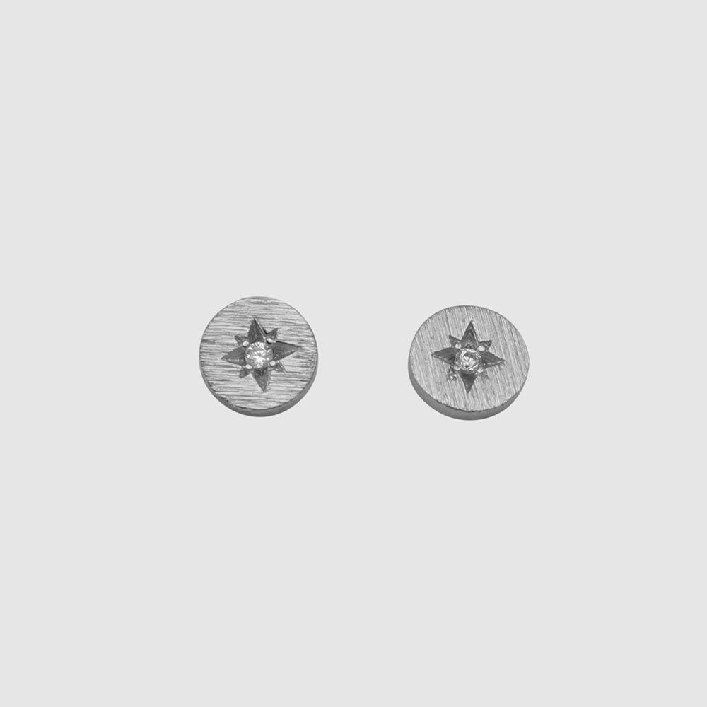 Jolie & Deen Sadie Earrings Silver