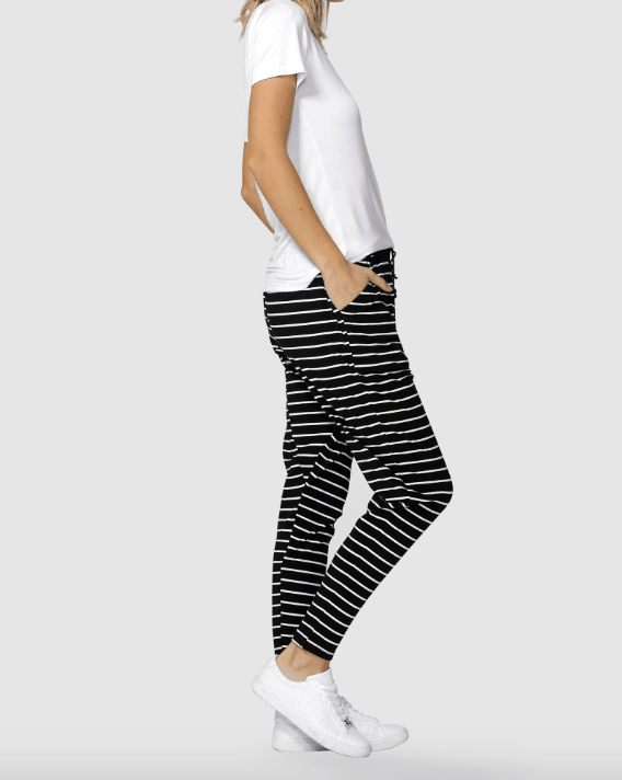 Betty Basics Jade Pant Black/White Stripe - Since I Found You