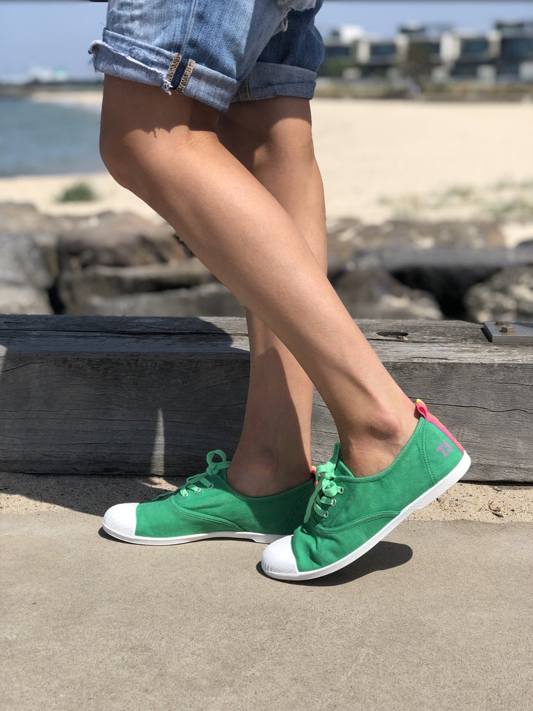 Cat Hammill washed green sneaker - Since I Found You