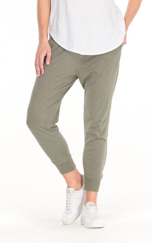 Cle the Label Camilla Pant in Khaki - Since I Found You