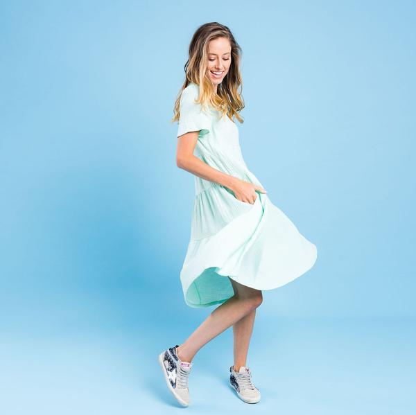 Kireina Jenny Dress in Mint - Since I Found You
